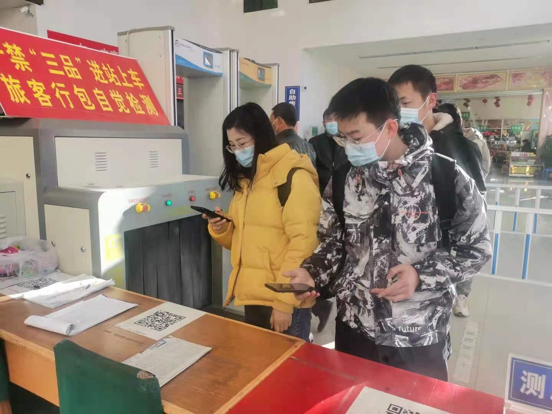 民勤县客运中心:强化疫情防控 迎接春运返程高峰